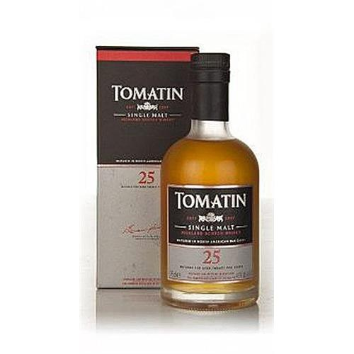 Tomatin 25 years old 43% 35cl Image 1