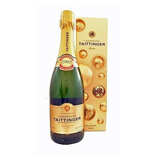 Taittinger Brut 2005 Vintage Champagne 12% 75cl Image 1
