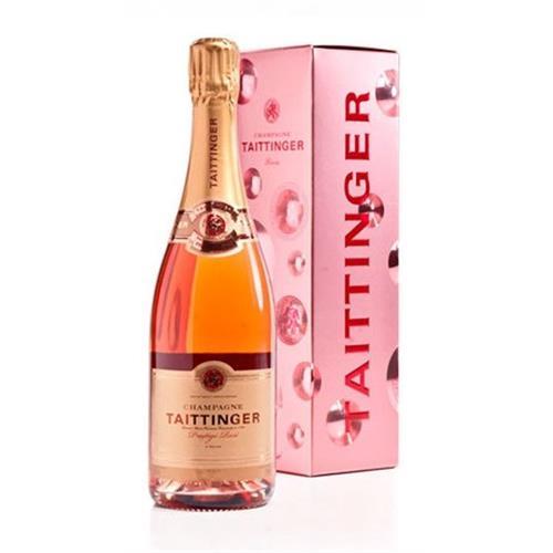 Taittinger Prestige Rose Champagne 12% 75cl Image 1