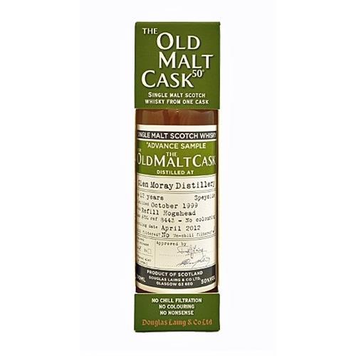 Glen Moray 12 years old 1999 Old Malt Cask 50% 20cl Image 1
