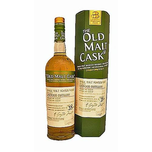 Linkwood 28 years old 1982 Old Malt Cask 50% 70cl Image 1