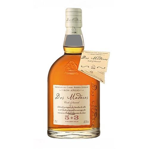 Dos Maderas Rum 5+3 years old 37.5% 70cl Image 1
