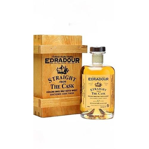 Edradour 12 years old Sauternes Cask Straight from the Cask 55.9% 50cl Image 1