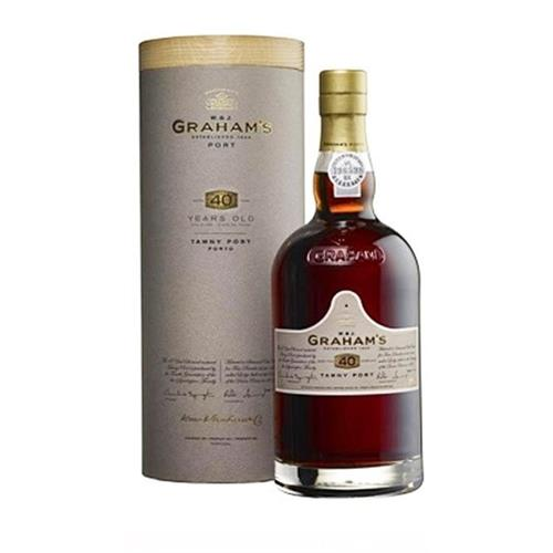 Grahams 40 years old Tawny Port 20% 75cl Image 1