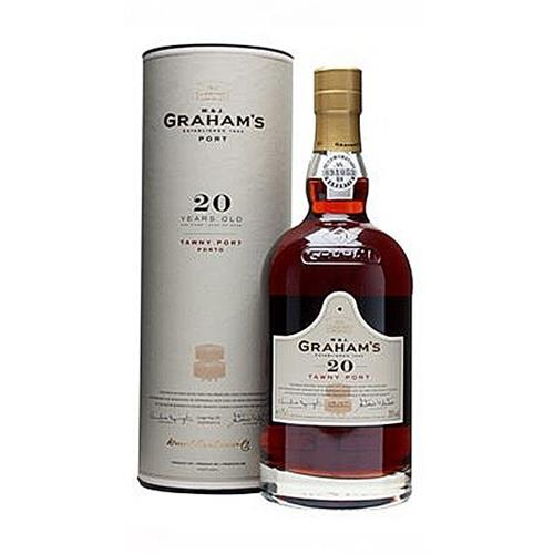 Grahams 20 year old Tawny Port 20% 75cl Image 1