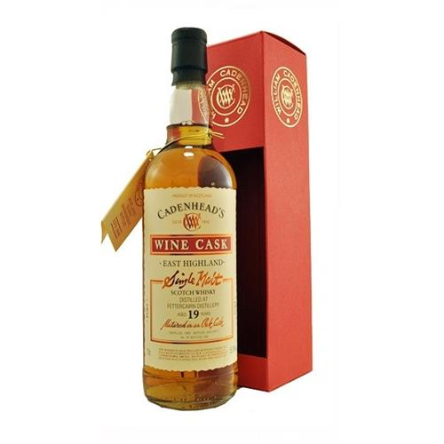 Fettercairn 19 years old 1993 Cadenheads 55.9% 70cl Image 1