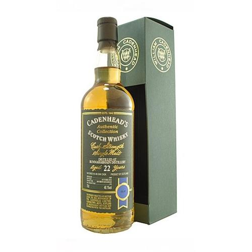 Bunnahabhain 22 years old 1989 Cadenheads 48.1% 70cl Image 1