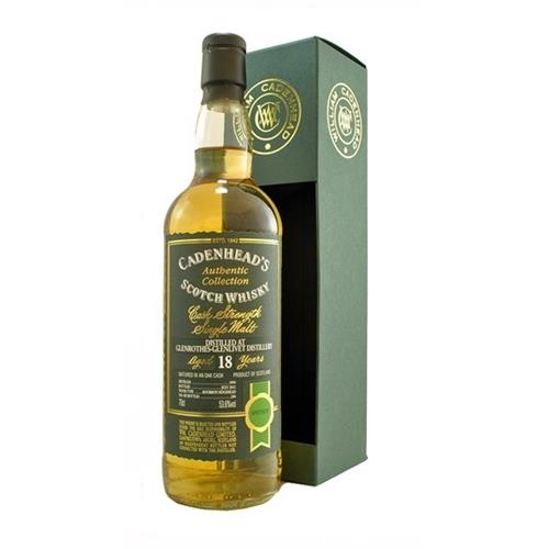 Glenrothes Glenlivet 18 years old 1994 Cadenheads 53.6% 70cl Image 1
