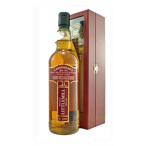 Littlemill 21 years old 1991 Cadenheads 55.2% 70cl Image 1
