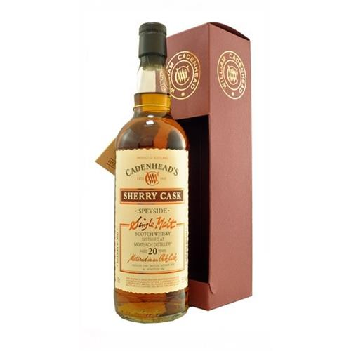 Mortlach 20 years old 1992 Cadenheads 55.1% 70cl Image 1