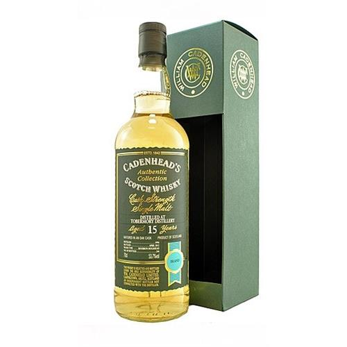Tobermory 15 years old 1996 Cadenheads 53.7% 70cl Image 1