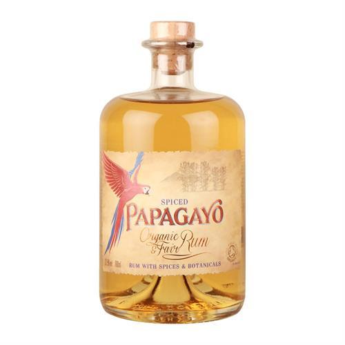 Papagayo Organic Spiced Rum 70cl Image 1