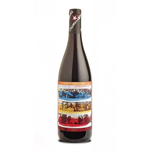 The Police Synchronicity 2008 Red Wine that Rocks 75cl Image 1