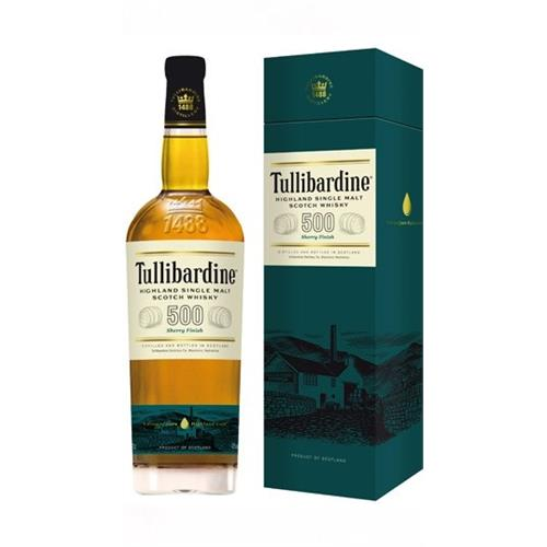 Tullibardine 500 Sherry Cask 43% 70cl Image 1