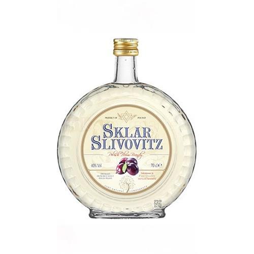 Sklar Slivovitz Plum Brandy 40% 70cl Image 1
