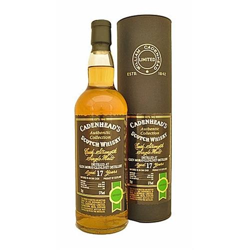 Glen Moray-Glenlivet 17 years old 1992 Cadenheads 57% 70cl Image 1
