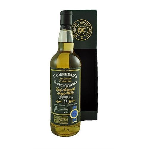 Caol Ila 22 years old 1991 Cadenheads 54.1% 70cl Image 1