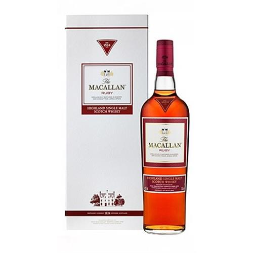 Macallan 1824 Ruby Single Malt 43% 70cl Image 1