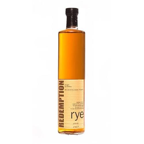 Redemption Rye Whiskey 46% 75cl Image 1