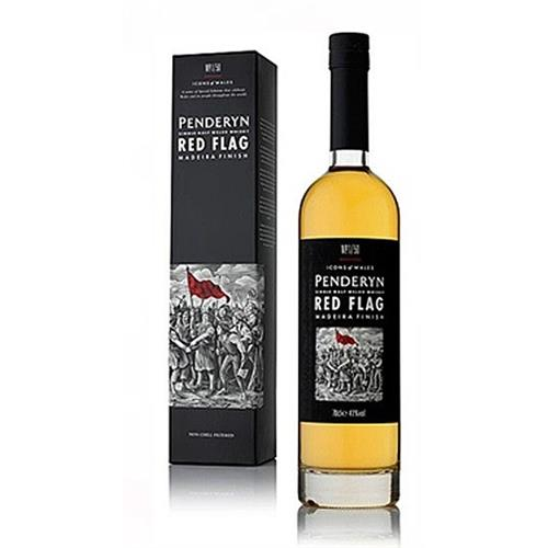 Penderyn Red Flag Icons of Wales No.1/50 41% 70cl Image 1