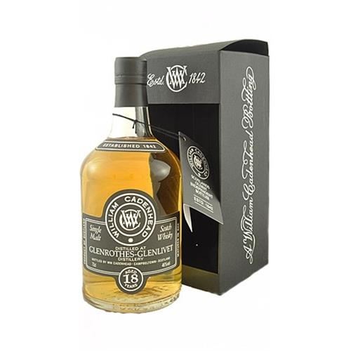 Glenrothes Glenlivet 18 years old William Cadenhead 46% 70cl Image 1