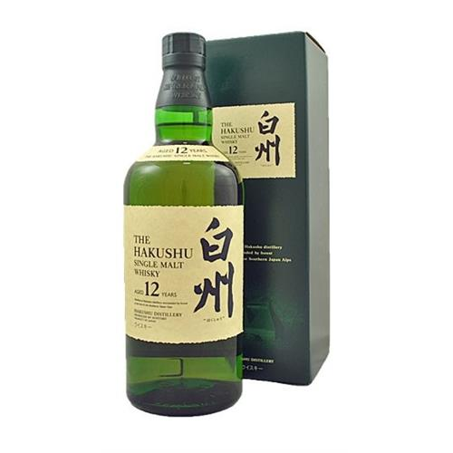 Suntory Hakushu 12 years old 43% 70cl (new Presentation) Image 1