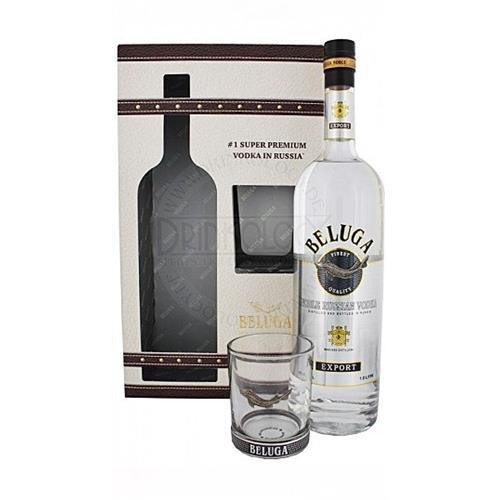 Beluga Noble Vodka Glass Pack 70cl Image 1