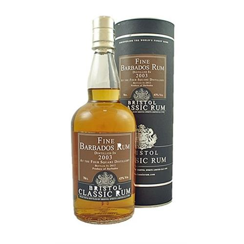 Bristol Classic Rum Barbados 2004 Foursquare Distillery 43% 70cl Image 1