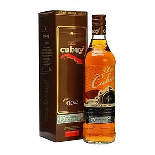 Ron Cubay Anejo Superior 10 years old 40% 70cl Image 1