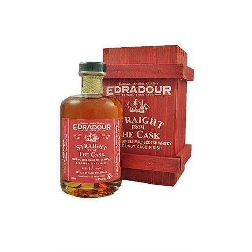 Edradour 11 years old Burgundy Cask Straight from the Cask 58.8% 50cl Image 1