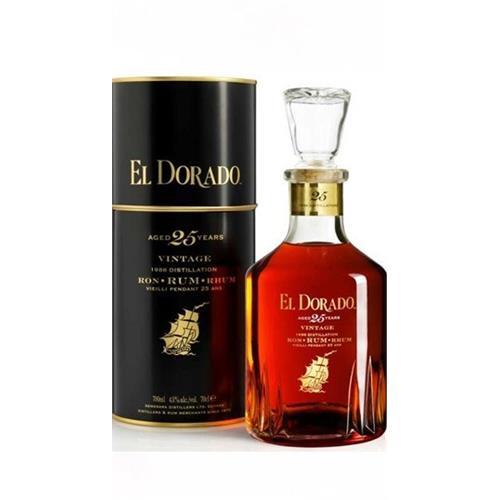 El Dorado 25 years old Rum 43% 70cl Image 1