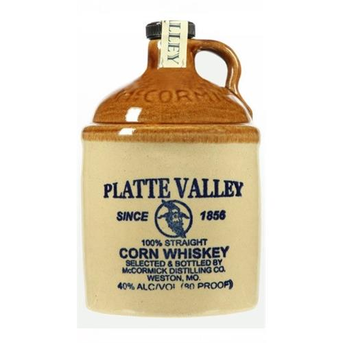 McCormick Platte Valley Corn Whiskey 40% 70cl Image 1