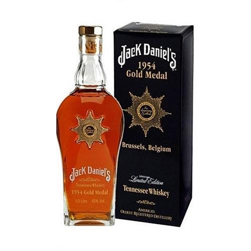 Jack Daniels 1954 Gold Medal 43% 100cl Image 1