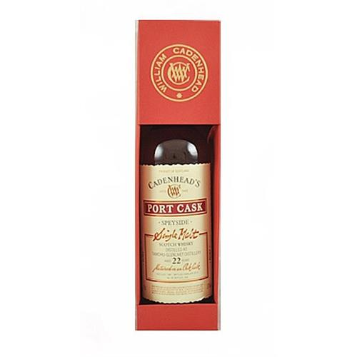 Tamdhu Glenlivet 22 years old Cadenheads Port Cask 57% 70cl Image 1