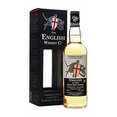 English Whisky Co. Classic St Georges Distillery 43% 70cl Image 1