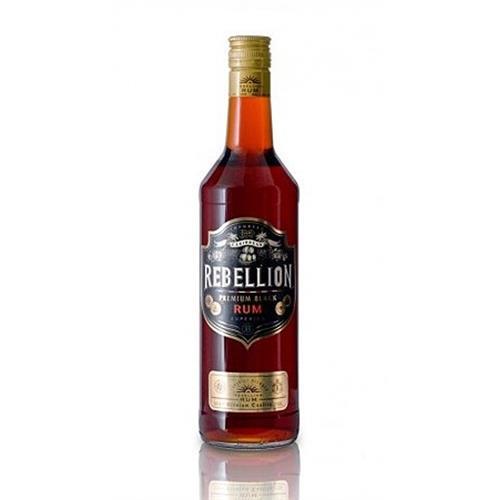 Rebellion Premium Black Rum 37.5% 70cl Image 1