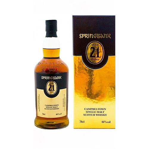 Springbank 21 years old 46% 2015 release Image 1
