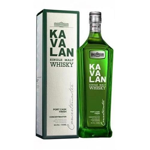 Kavalan Concertmaster Port Cask Finish 40% 70cl Image 1