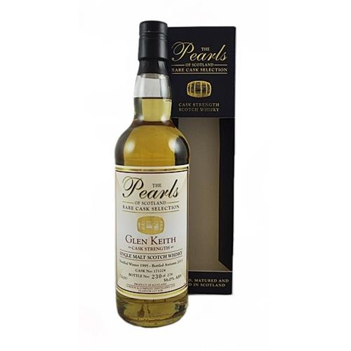 Glen Keith 1995 Cask Strength The Pearls of Scotland 56% 70cl Image 1