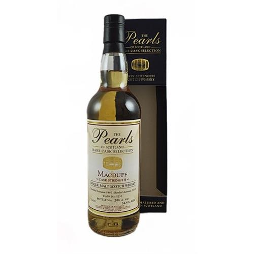 Macduff 1997 Cask Strength The Pearls of Scotland 54.4% 70cl Image 1