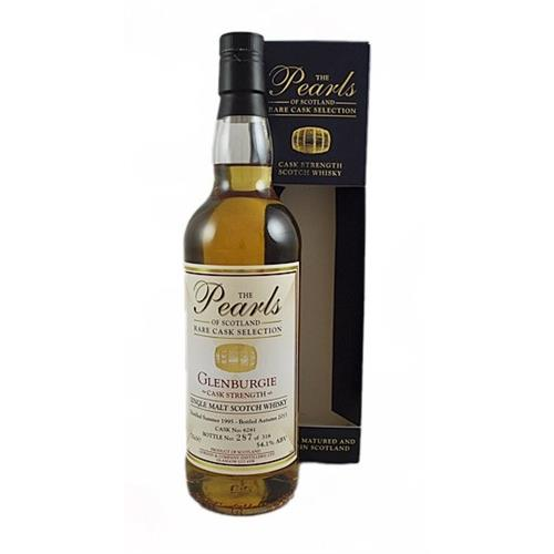 Glenburgie 1995 Cask Strength The Pearls of Scotland 54.1% 70cl Image 1