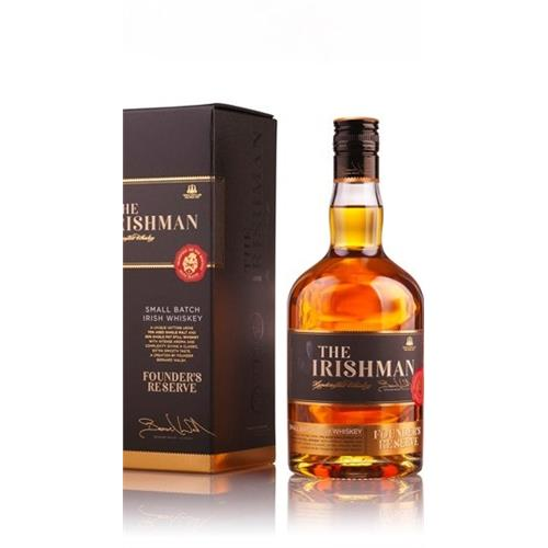 The Irishman Founders Reserve 40% 70cl Image 1