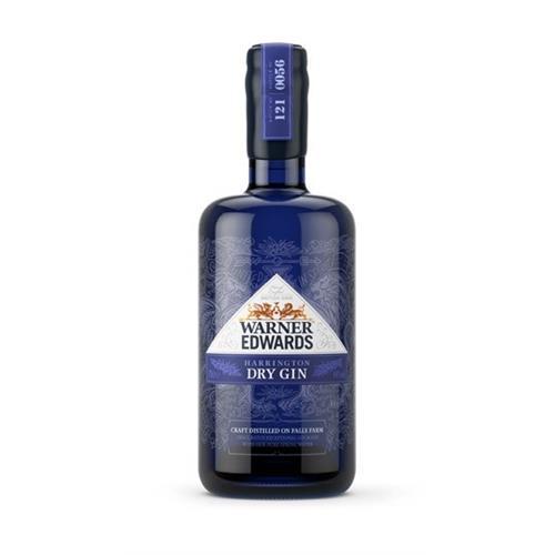 Warner Edwards Harrington Dry Gin 44% 70cl Image 1