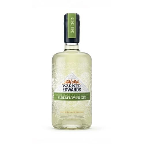 Warner Edwards Elderflower Gin 40% 70cl Image 1