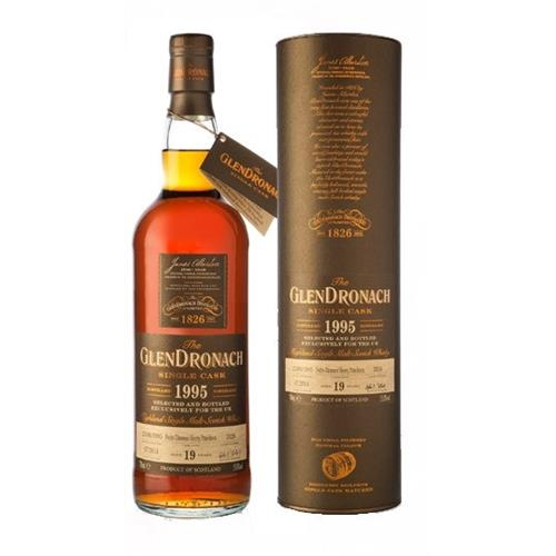 Glendronach 1995 19 years old Single Cask 55% 70cl Image 1