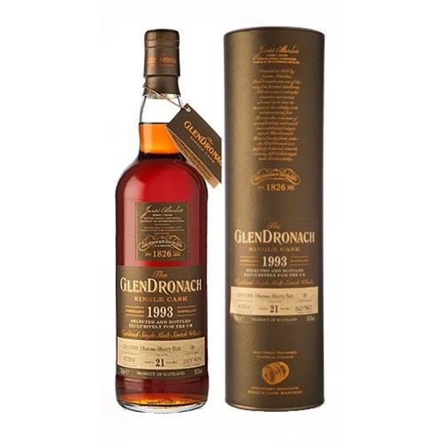 Glendronach 1993 21 years old Single Cask 58.8% 70cl Image 1