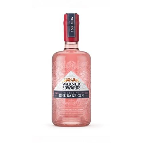 Warner Edwards Victoria's Rhubarb Gin 40% 70cl Image 1