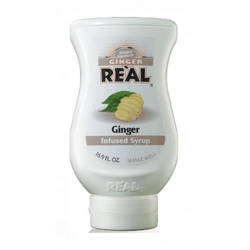 Real Ginger Infused Syrup 500ml Image 1