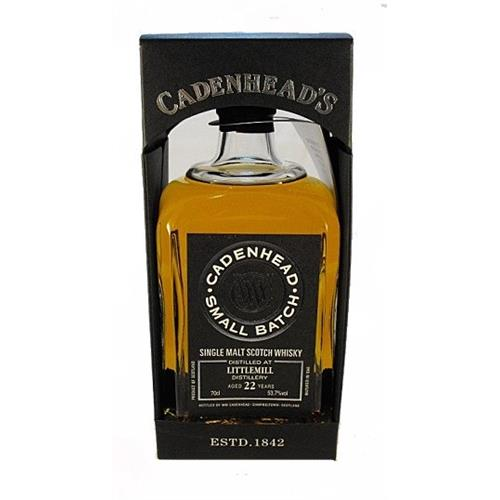 Littlemill 22 years old 1992 Cadenhead 53.7% 70cl Image 1