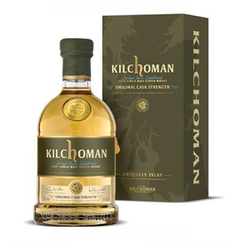 Kilchoman Original Cask Strength 59.2% 2014  Bottling Image 1